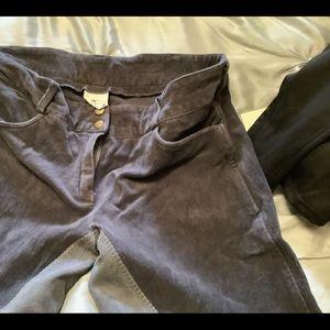 Great gray lady corduroy breeches 32R